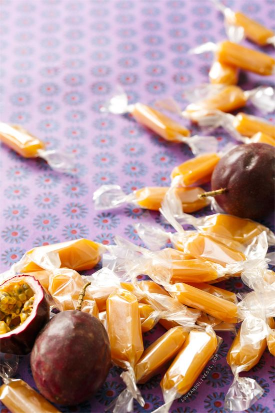 Passion Fruit Caramel Candy