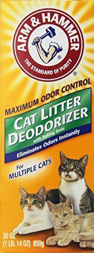 ARM & Hammer Cat Litter Deodorizer 30 oz by Arm & Hammer via https://www.bittopper.com/item/arm-hammer-cat-litter-deodorizer-30-oz-by-arm-hammer/