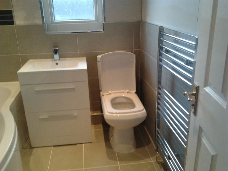 this bathroom is the same width as yours, I think it works space wise.