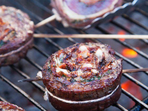 Gegrillte Steak-Röllchen  