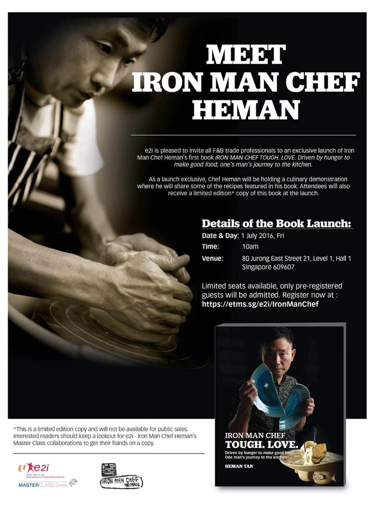 Starwellness would like to congratulate the StarWater product champion, the Iron Man Chef Heman Tan for a successful launch of his new book entitled IRON MAN CHEF TOUGH, LOVE. Driven by hunger to make good food; one's man's journey to the kitchen last 1 July 2016! ‪#‎starwellnesssg‬ ‪#‎theironman‬ ‪#‎chefheman‬