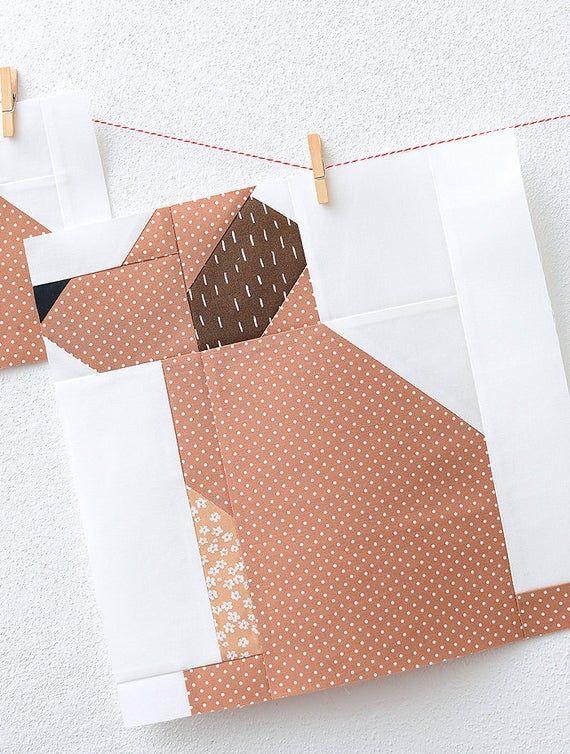 PDF Patrón de colcha de otoño – Patrón de colcha de perro
