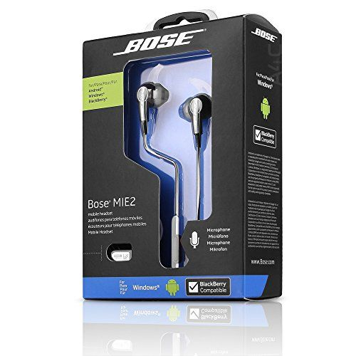 Bose MIE2 Mobile Headset with In-line Mic & 3-Button Remo...
