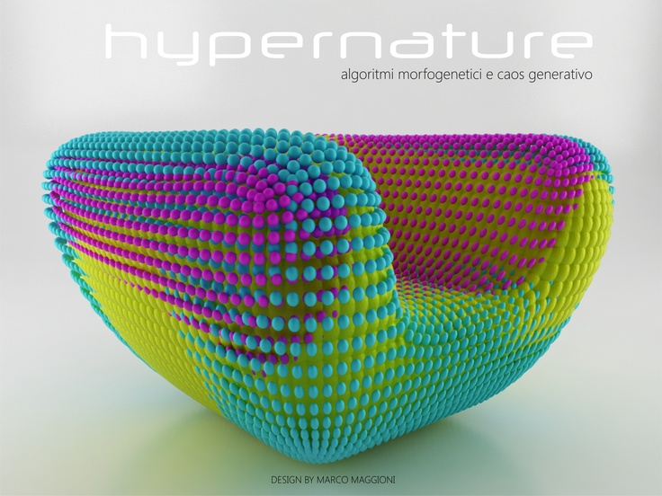 my experimentation for a new generative design....