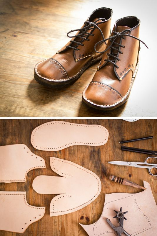 Making boots at home is the most wonderful feeling of accomplishment. You can make them look exactly like you want them, choose the material, colour, decoration, height and so much more!