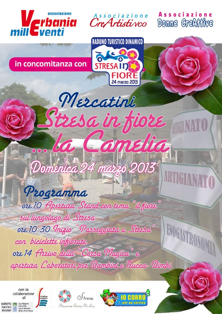 """Other camelia's events also in Stresa: the so-called """"Pearl of the Lake""""!"""