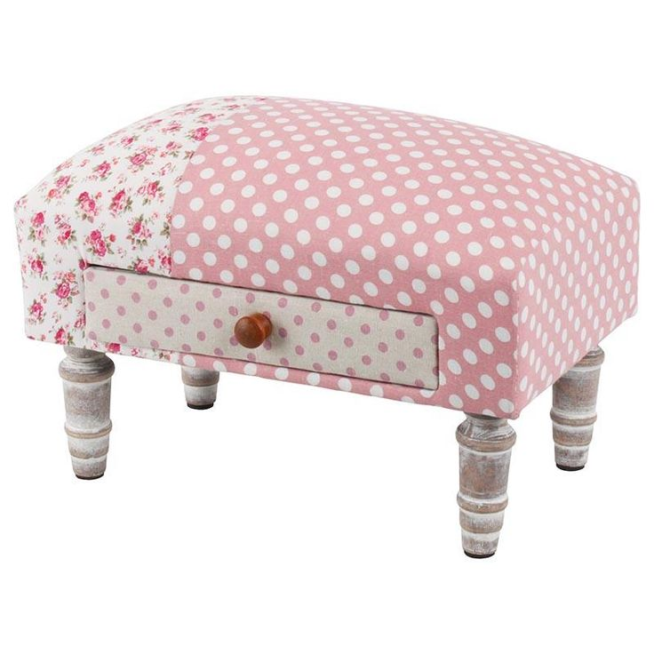 Cute fabric #stool! Discover our beautiful collection of stools at http://www.inart.com/en/products/furniture/stools