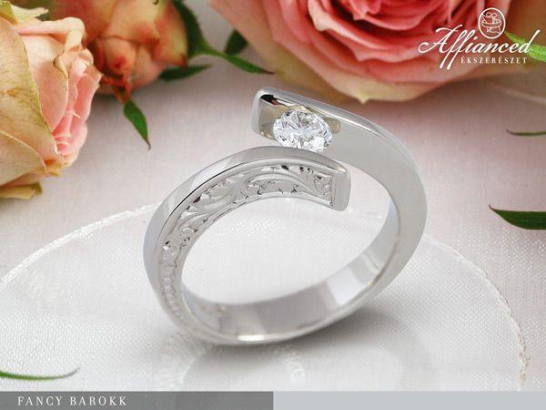 Fancy Barokk – eljegyzési gyűrű