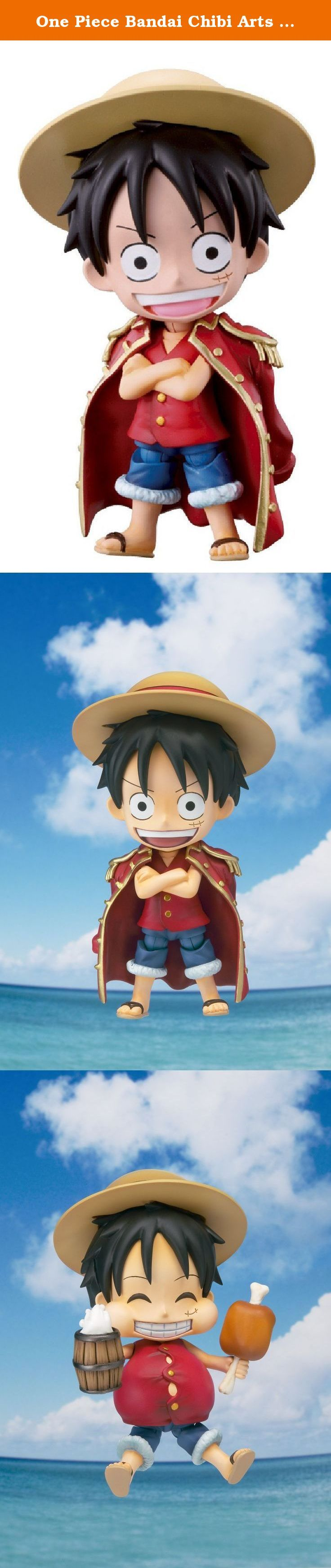 One Piece Bandai Chibi Arts 4 Inch Action Figure Monkey D. Luffy. The main character of One ...
