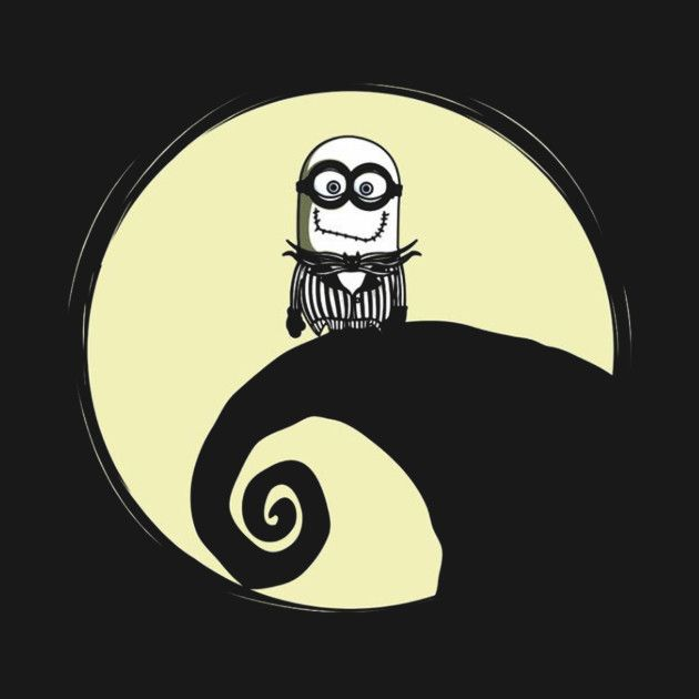 Check out this awesome 'despicable+me+minions+moon+night' design on @TeePublic!