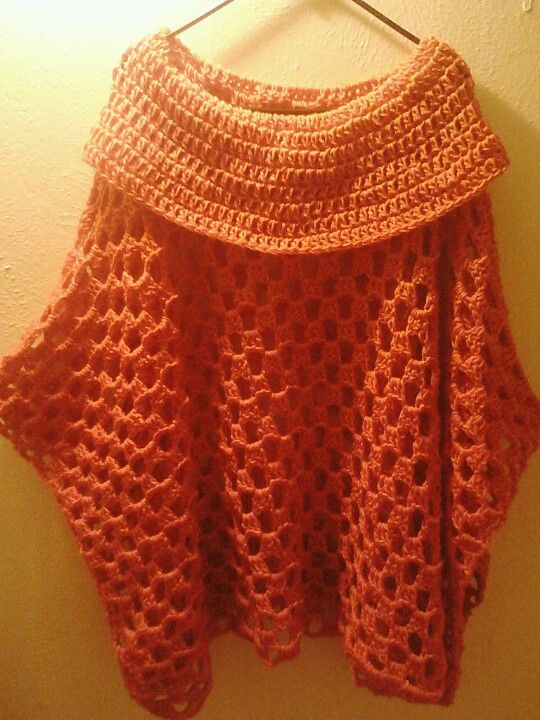 602 best images about Crochet ponchos, shawls on Pinterest ...