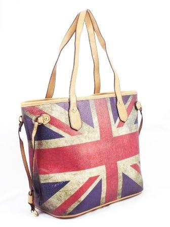 Geanta dama rosu cu albastru si bej Britain♦Material exterior:piele ecologica    ♦Material interior:material sintetic.Geanta este confectionatadin piele ecode calitate. Este asortabila la tinute de tip office dar poate fi purtata si la tinute cot