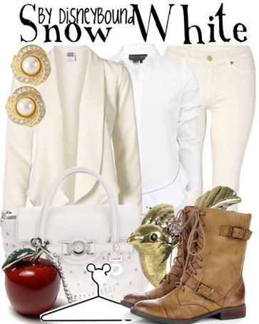 OUAT Snow White by DisneyBound