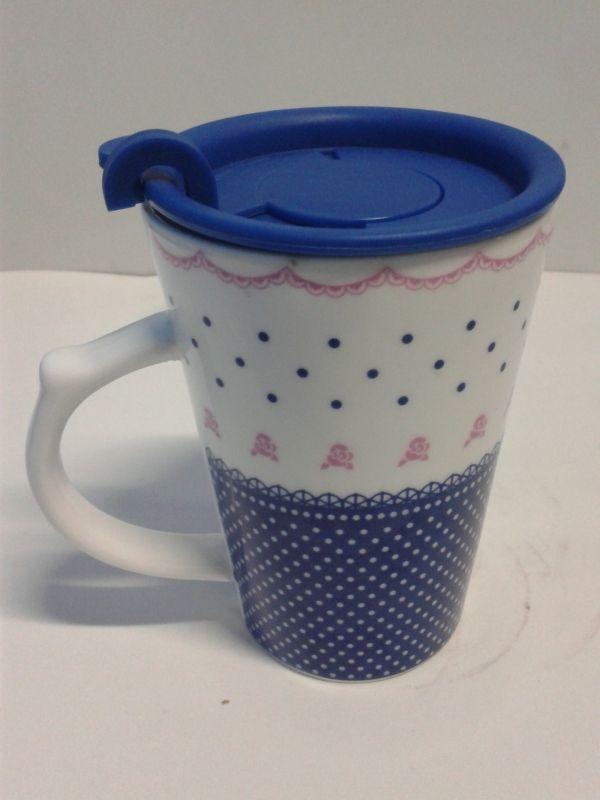 Mugs cerámica sy 7061 con tapa de goma decorativo. #Detalles #MugsDecorativos