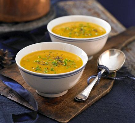 Butternut squash & sage soup