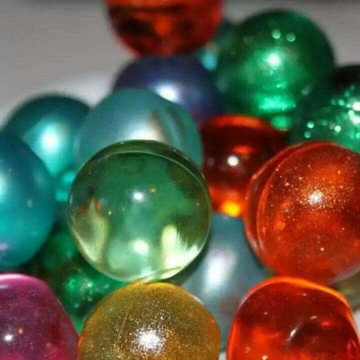 Before Lush bath bombs we had these bath pearls. Retro!