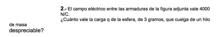 Ejercicios de Electromagnetismo propuestos en el examen PAU de Canarias  de Setiembre de 1998, opción 1.