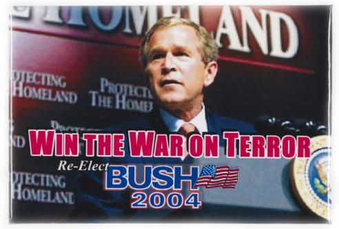 2004 ELECTION - Campaign Button - George W. Bush