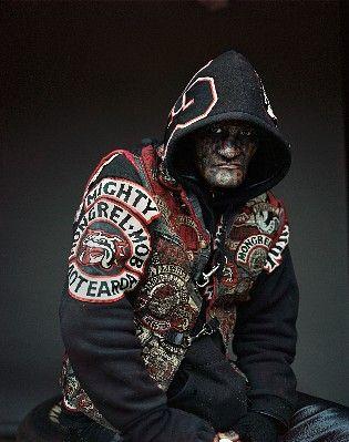 Jono Rotman - New Zealand Gang Member of The Mighty Mongrel Mob.