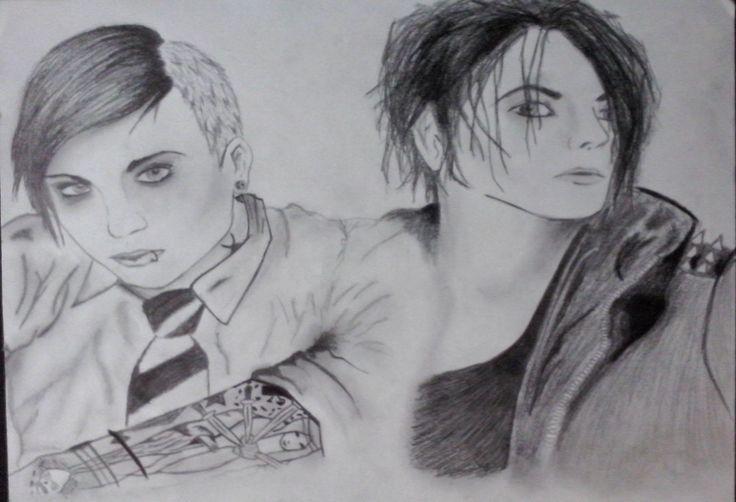 Frank Iero & Gerard Way
