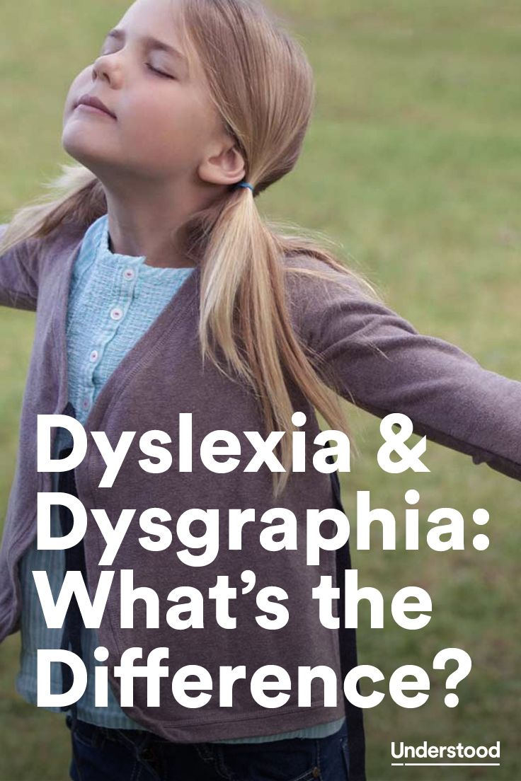 It's not unusual for kids to have both #dysgraphia and #dyslexia. Here are some ways professionals tell the difference between the two.