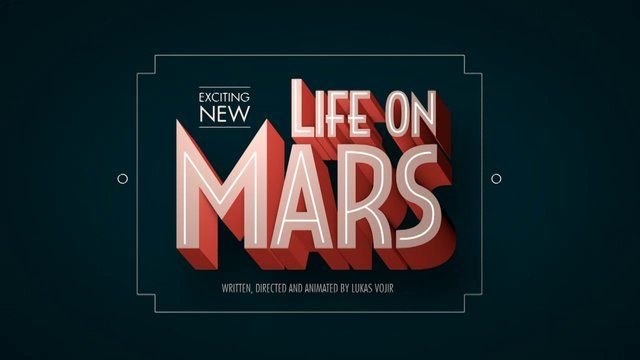 Life On Mars by Lukas Vojir. Written, Directed and Animated by Lukas Vojir { http://eat-garlic.com/ }