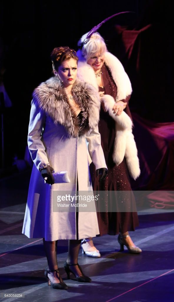 Nancy Opel and Rachel Bloom during the Manhattan Concert Productions 25th Anniversary concert performance of 'Crazy for You' at David Geffen Hall, Lincoln Center on February 19, 2017 in New York City.