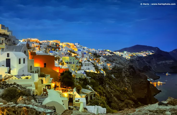 need to get back to greece...: Photos, Spaces, Buckets Lists, Santorini Greece, Favorite Places, Places I D, Islands, Night, Travel Photography