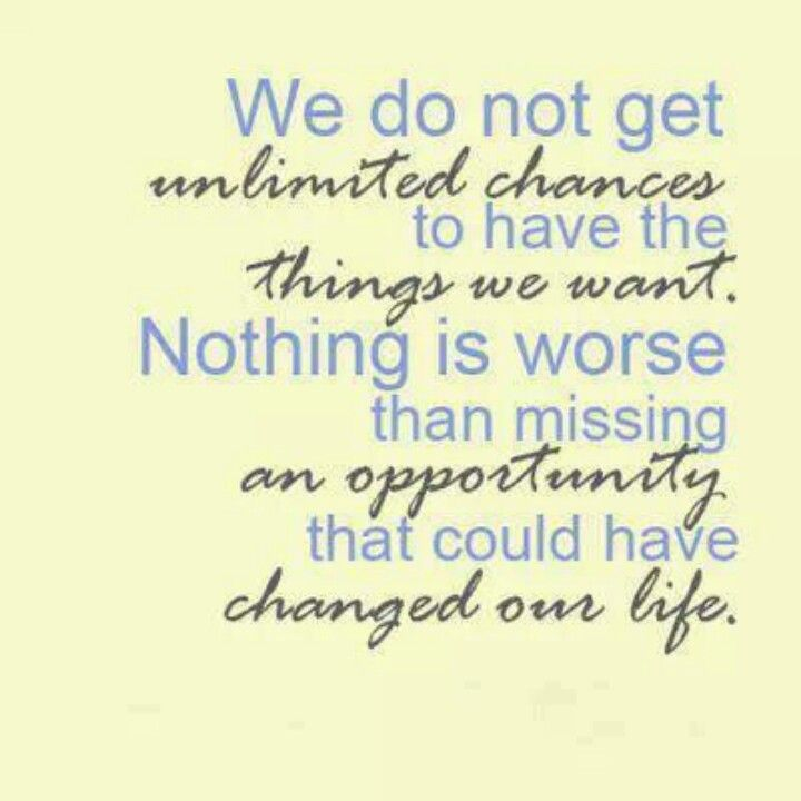 quotes about missed opportunities - Google Search