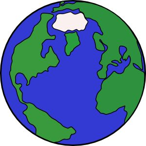 11 best earth images on pinterest planet earth earth day and rh pinterest com Planet Clip Art Cartoon Earth Drawings