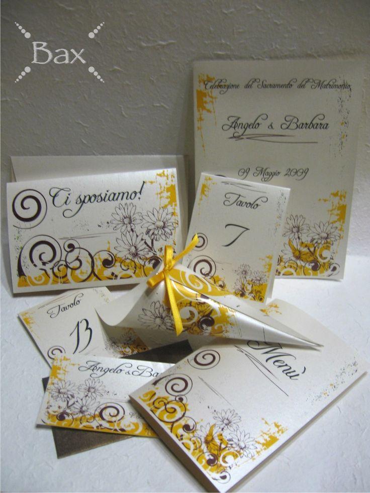 Partecipazioni Matrimonio Con Girasoli : Partecipazioni matrimonio con foto lc19 ~ pineglen