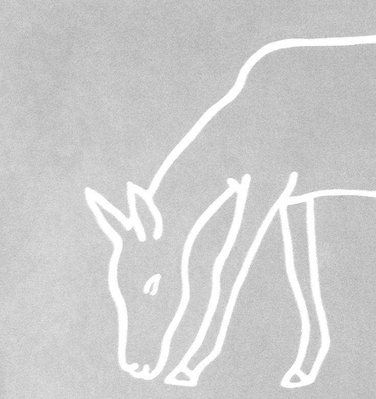 A Deer by Finnish artist Osmo Rauhala.
