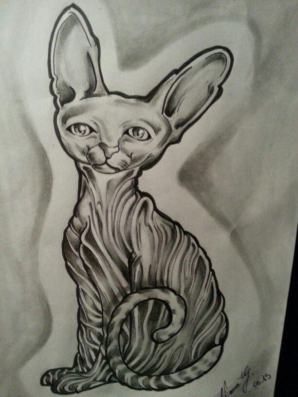 My work PSYCHO CAT #drawing #draw #drawings #cat #gatto #pisica #tattooinkspiration #tattoowork #ink #tattoo #tattooink #artist #art  Liviana Ink Tattoo