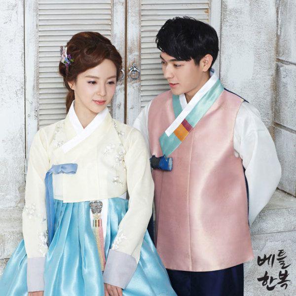 #순우리말 #hanbok #물렁팥죽 #beautiful #couple #wedding #elegant #grace #gorgeous