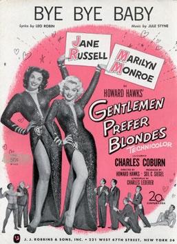 Gentlemen Prefer Blondes - Howard Hawks (1953). classic