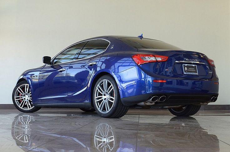 Earnhardt Maserati 2014 Maserati Ghibli S Q4 AWD Blue Emozio/Black http://earnhardtmaserati.com/inventory/2014/Maserati/Ghibli/AZ/Gilbert/ZAM57RTA2E1089559/