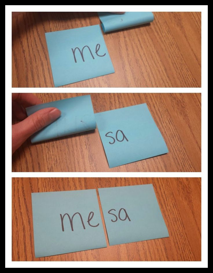 A super simple game to help kids attend to reading Spanish syllables individually!
