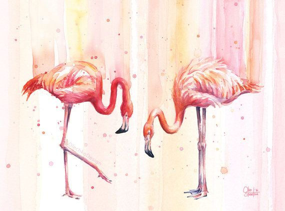 Ms de 25 ideas increbles sobre Flamencos rosados en Pinterest