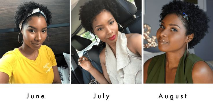 Natural Hair Journey After Giving Birth