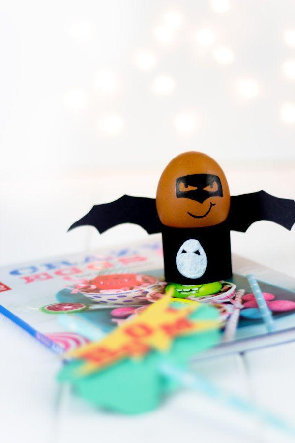 BatEGG | Crazy Eggs | DIY Ostern wird... CRAZY! by http://titatoni.blogspot.de/