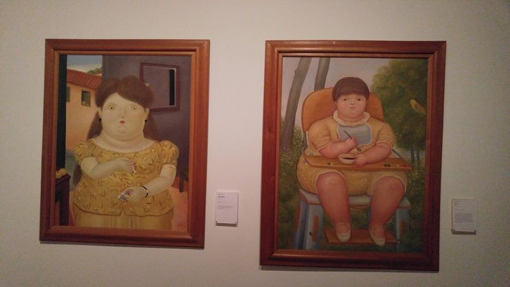 In an art museum in Bogata. Artist Ferdinand Botero.