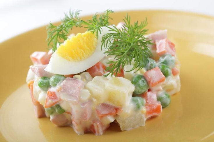 Salade macédoine fait maison