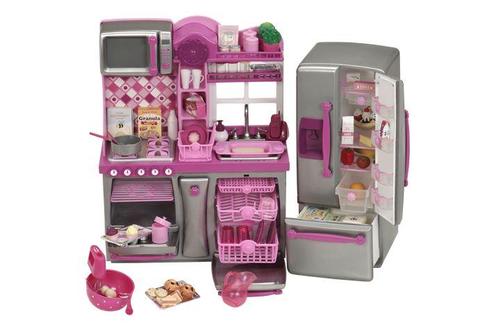 Barbie Gourmet Kitchen Set