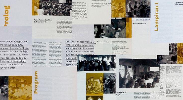 """다음 @Behance 프로젝트 확인: """"TKFI Report Book '16""""…"""