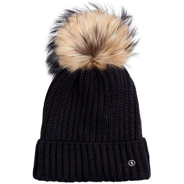 Bogner Leonie Ski Hat (11.545 RUB) ❤ liked on Polyvore featuring accessories, hats, cold weather hats, bobble hat, watch cap, ski cap and ski hat