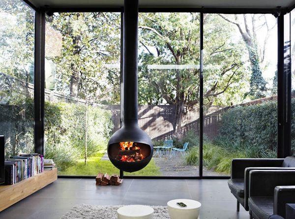 The BathyscaFocus bringing warm glow in this beautiful glass skinned lounge. Glass Cube, Prahran.