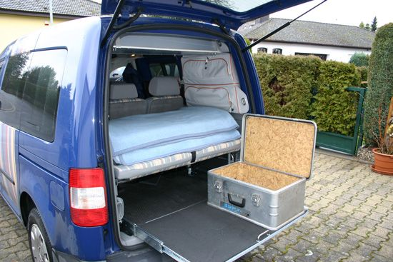 reisedampfer auto caddy maxi ausbau pinterest. Black Bedroom Furniture Sets. Home Design Ideas