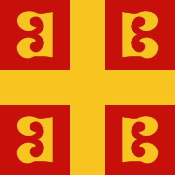 Flag of Byzantine Empire (Palaeologus Dynasty)