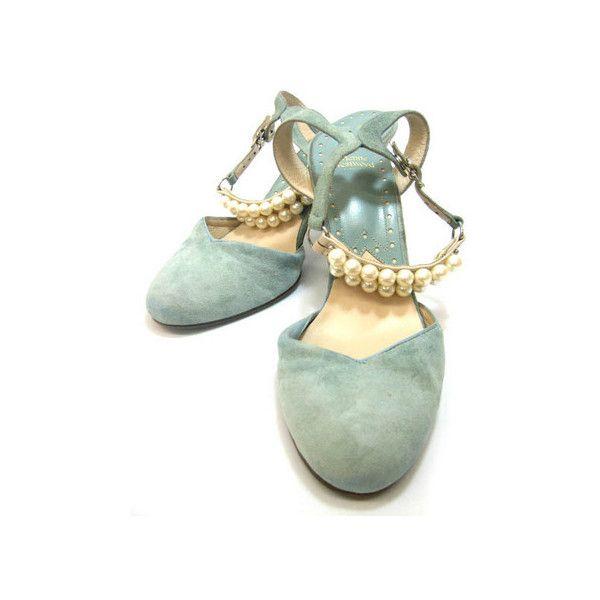 【楽天市場】 【USED】Vivienne... ❤ liked on Polyvore featuring shoes, heels, flats, sapatos, scarpe, flat pumps, vivienne westwood, flat shoes, vivienne westwood flats and heeled flats