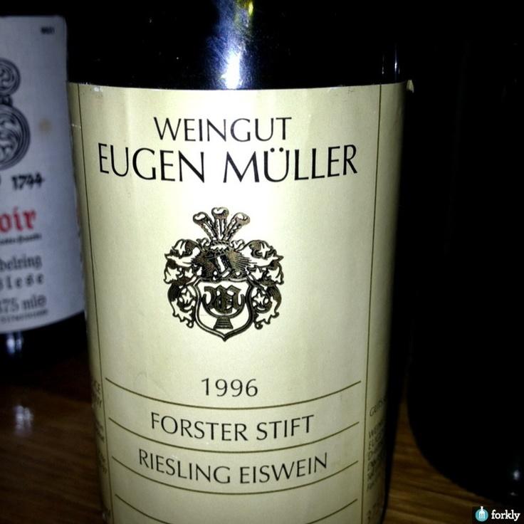 1996 Eugen Müller Forster Stift Riesling Eiswein | Fav ...